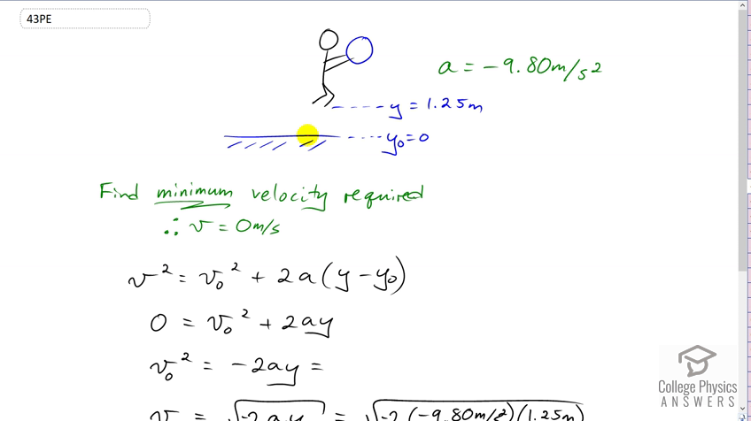 OpenStax College Physics Solution, Chapter 2, Problem 43 (Problems &  Exercises)