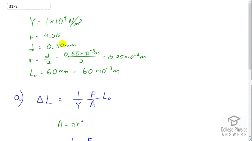 Openstax College Physics Solution Chapter 5 Problem 31 Problems