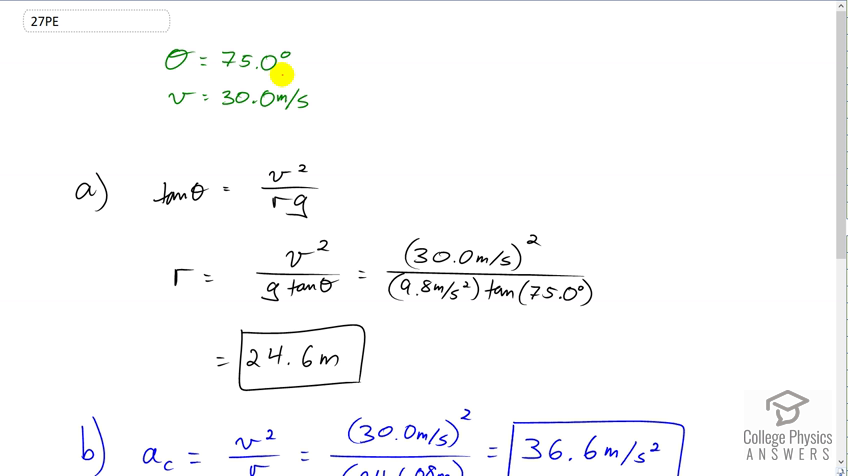 OpenStax College Physics Solution, Chapter 6, Problem 27 (Problems &  Exercises)
