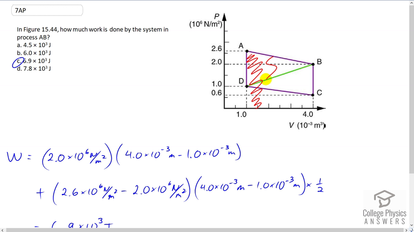 OpenStax College Physics Solution, Chapter 15, Problem 7 (Test Prep for AP®  Courses)