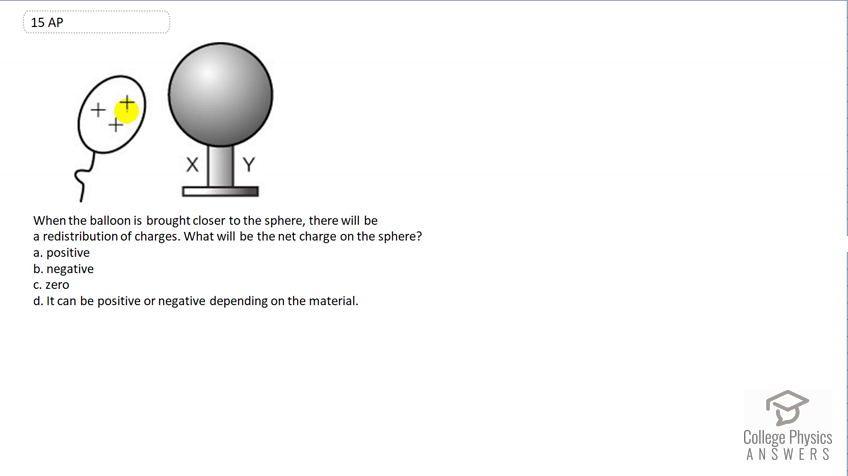 OpenStax College Physics Solution, Chapter 18, Problem 15 (Test Prep for  AP® Courses)