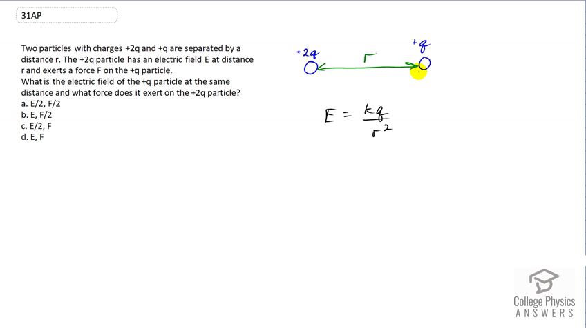 Openstax College Physics Solution Chapter 18 Problem 31 Test Prep