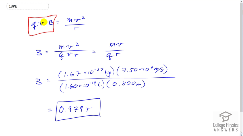 OpenStax College Physics Solution, Chapter 22, Problem 13