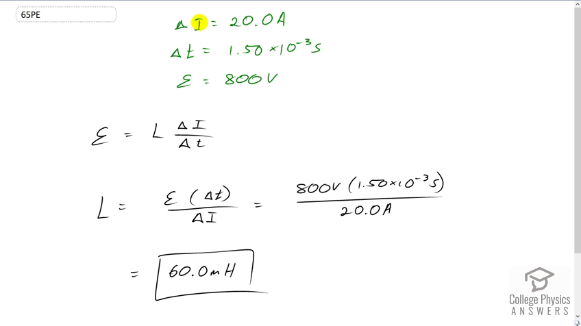 OpenStax College Physics Solution, Chapter 23, Problem 65 (Problems &  Exercises)