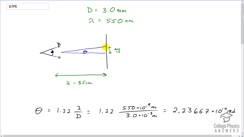 OpenStax College Physics Solution, Chapter 27, Problem 67 (Problems &  Exercises)